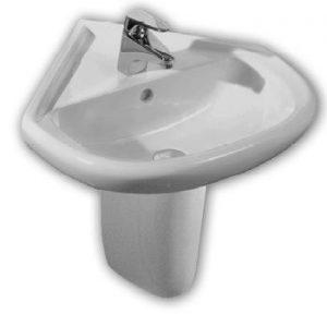 Мивка ъглова Фламенко 55 см  813651