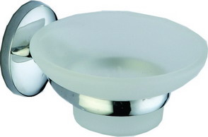 Сапунерка стъклена Алба 9059