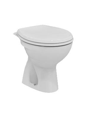 Стояща тоалетна чиния с вертикално оттичане Сева Фреш  E406301