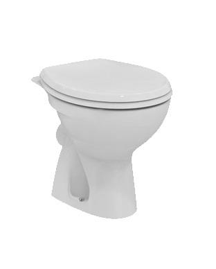 Стояща тоалетна чиния с хоризонтално оттичане Сева Фреш E406201