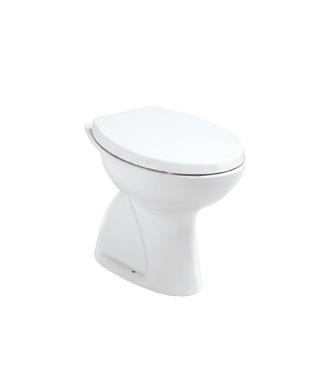 Тоалетна чиния с вертикално оттичане Сева Дуо W719801