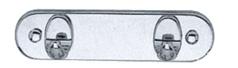 Закачалка за кърпи двойна 1102