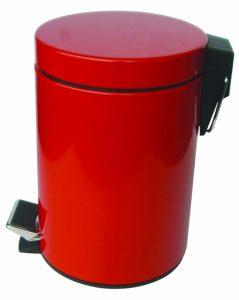 Кошче за WC 5 литра червено 8262 R