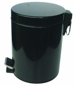 Кошче за WC 5 литра черно 8262В