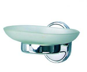 Сапунерка стъклена Ариел 30959