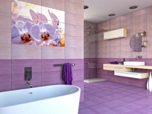 Плочки за баня Виола