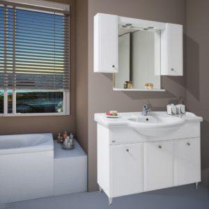 Шкаф за баня Лати 114 MDF