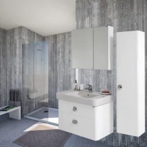 Шкаф за баня Сенсо 85 MDF