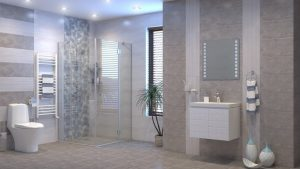 Шкаф за баня комплект PVC Еклипс 2