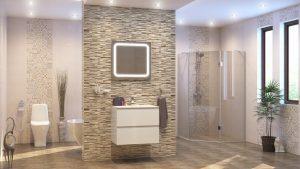 Шкаф за баня комплект PVC Прима