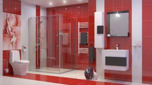 Шкаф за баня комплект PVC Сигма