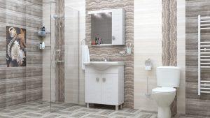 Шкаф за баня PVC Дея