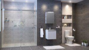 Шкаф за баня PVC Изи