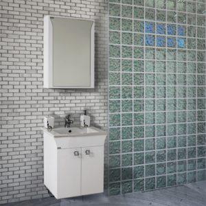 Шкаф за баня PVC Линеа 55см
