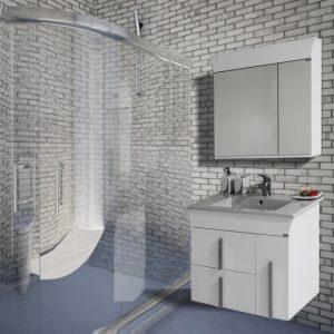 Шкаф за баня PVC Линеа 80см