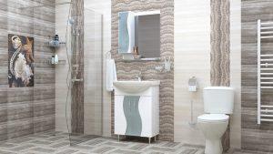 Шкаф за баня PVC Мелани