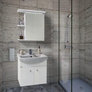 Шкаф за баня PVC Ния 60см