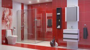 Шкаф за баня PVC Омега