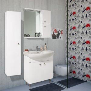 Шкаф за баня PVC Полина 70см