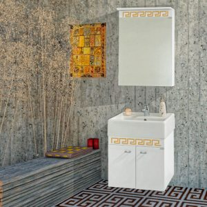 Шкаф за баня PVC Призма 50см