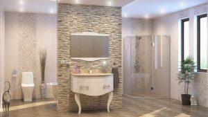Шкаф за баня PVC Реал
