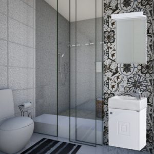 Шкаф за баня PVC Сара 40см