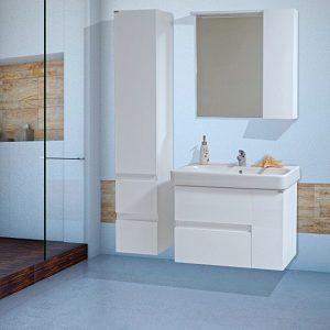 Шкаф за баня PVC Трафик 75см