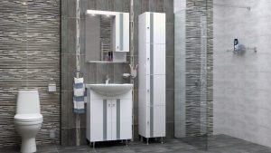 Шкаф за баня PVC Флора