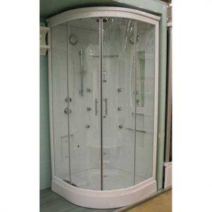 Хидромасажна кабина с парогенератор 61509000 размер 95х95х215