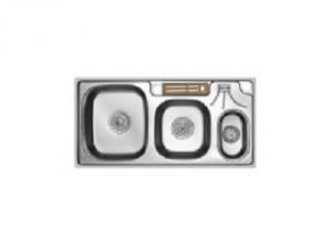 Кухненска мивка алпака двукоритна 65LA H9145B