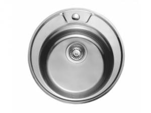 Кухненска мивка алпака кръгла 65LA 490