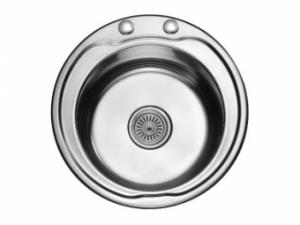 Кухненска мивка алпака кръгла 65LA N480