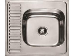Кухненска мивка алпака с ляв плот 65LA 6060L