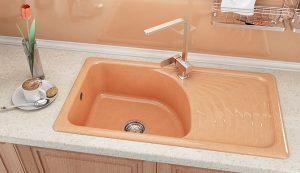 Кухненска мивка FAT 205 с десен плот