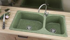 Кухненска мивка FAT 214 с две корита