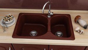 Кухненска мивка FAT 216 с две корита