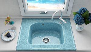Кухненска мивка FAT 218 модулна мивка