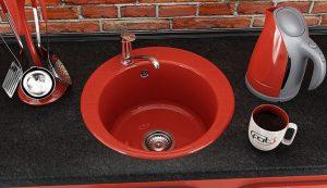 Кухненска мивка FAT 220 кръгла мивка