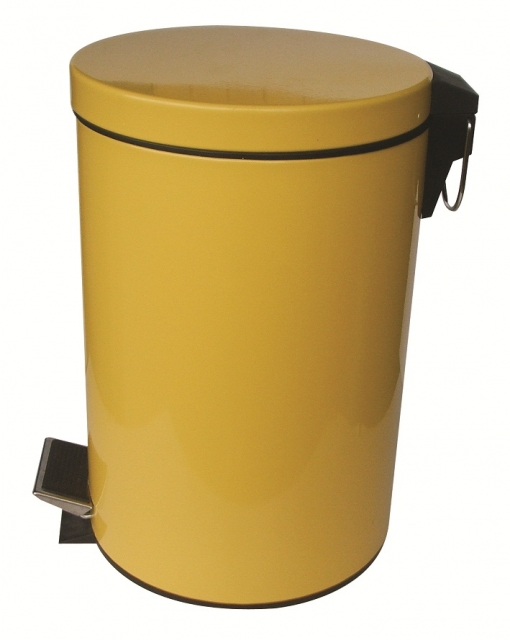Тоалетно кошче 12 литра жълто 8266Y