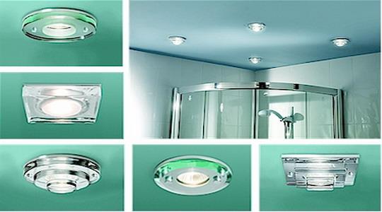 осветление за баня