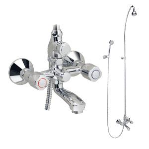 Смесител за вана-душ комбиниран Искър В1396АА