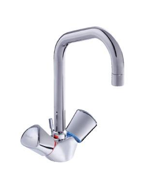 Смесител стоящ за мивка Сева Трио B8623AA