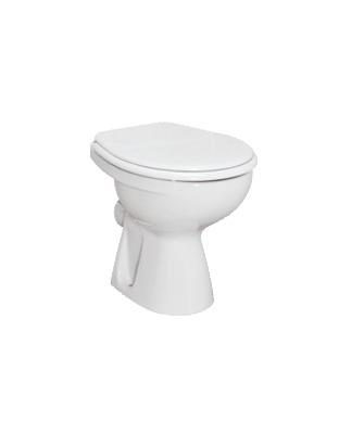 Стояща тоалетна чиния хоризонтално оттичане Сева М W702201