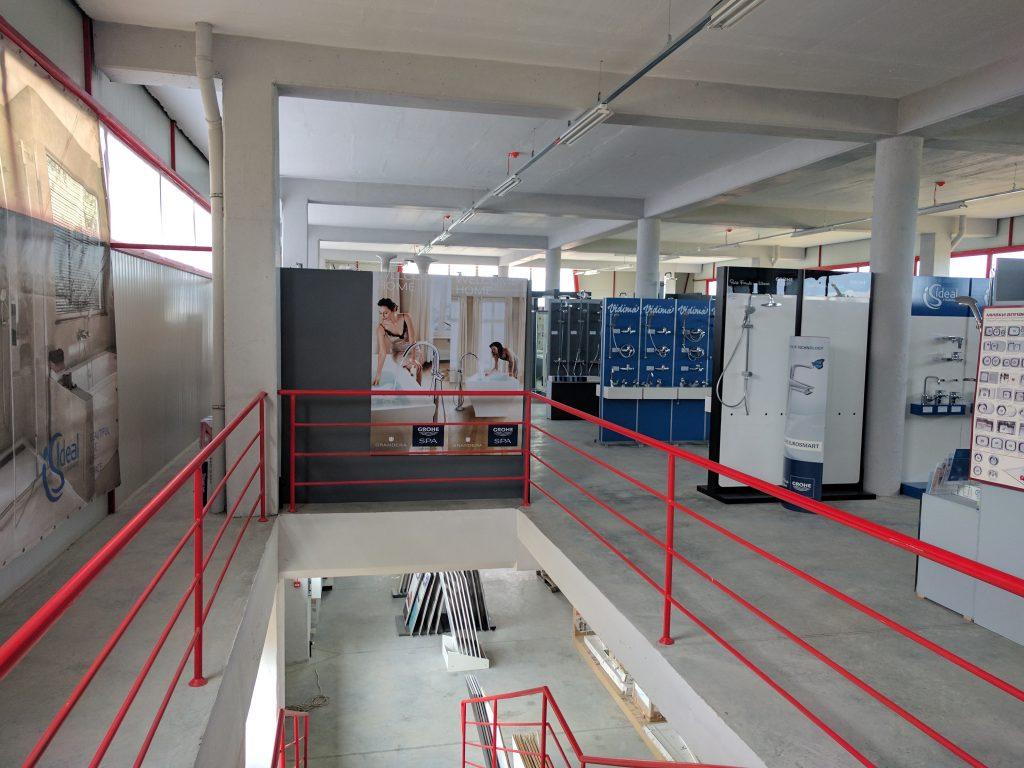 2ри етаж-оборудване за банята