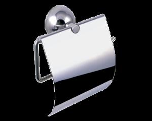 Поставка за тоалетна хартия с капак Класик 5403