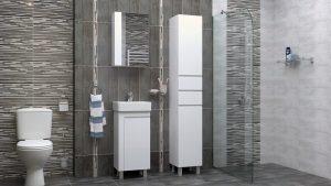 Шкаф за баня комплект PVC Вега