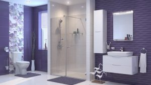 Шкаф за баня комплект PVC Смайл