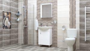 Шкаф за баня PVC Вито