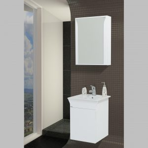 Шкаф за баня PVC Линеа 45см