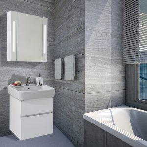 Шкаф за баня PVC Лора 60см